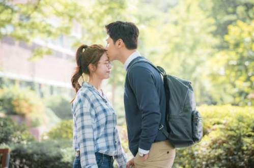 Meloholic Korean drama kiss scene