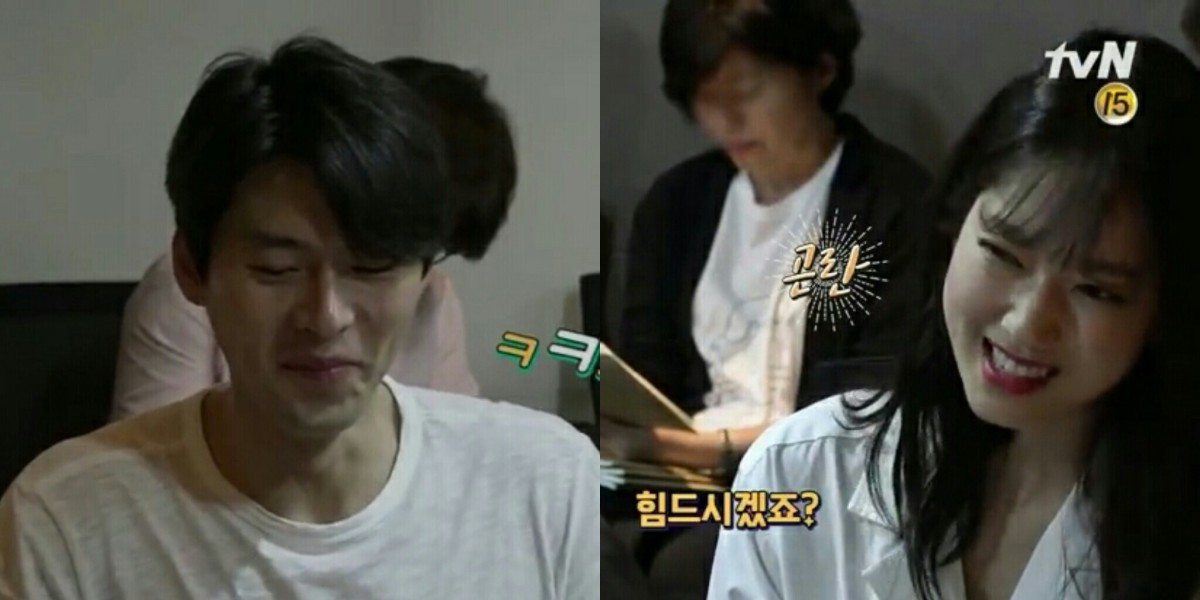"""Park Shin-Hye and Hyun Bin-In Looked Like A Cute Couple While Reading The Script For Korean Drama """"Memories Of Alhambra"""""""