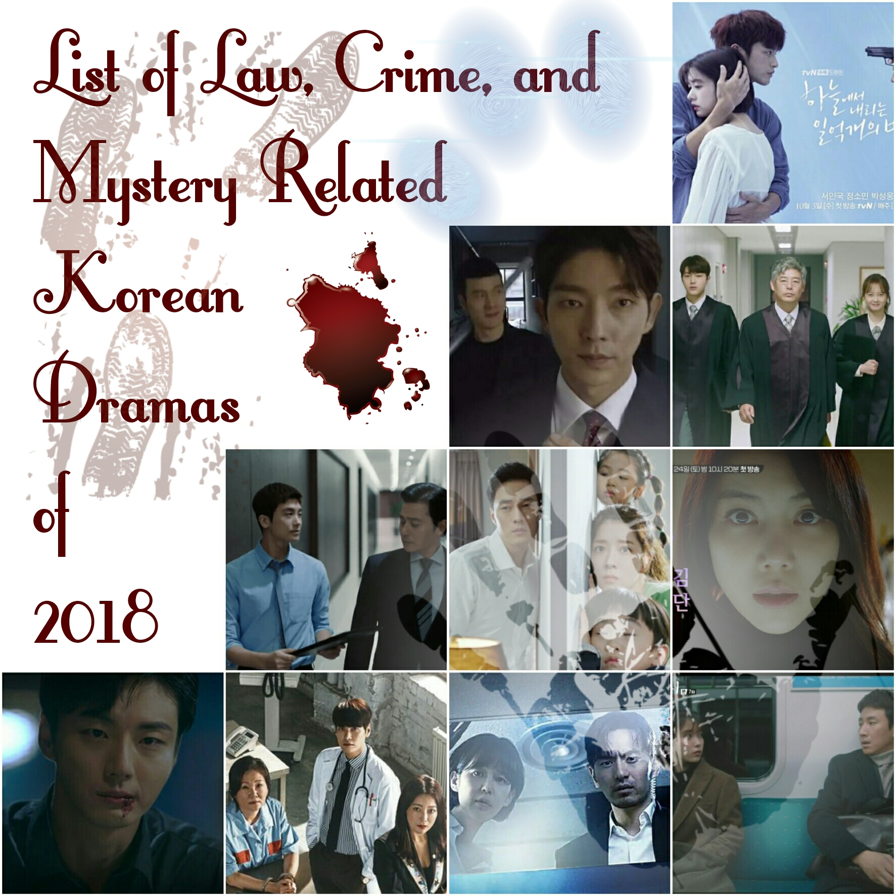 27 List Of Law Crime Mystery Related Korean Dramas Of 2018