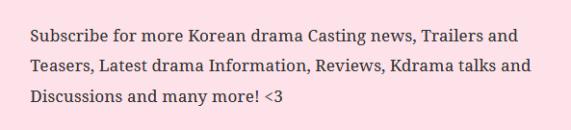 Follow Kdrama Crazy drama guide
