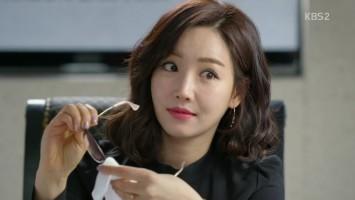 Lee yoo ri in father is strange