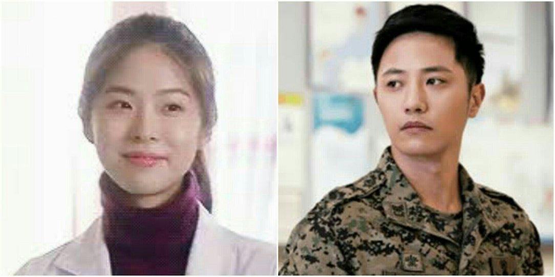 Seo Eun Soo and Jin Goo