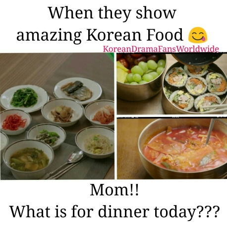 Yummy Korean food from dramas
