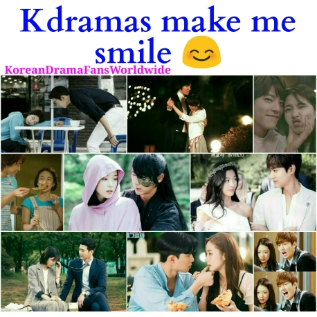 Kdramas make me smile quote