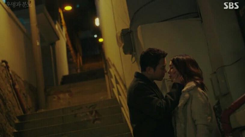 Korean drama Fates and Furies kiss