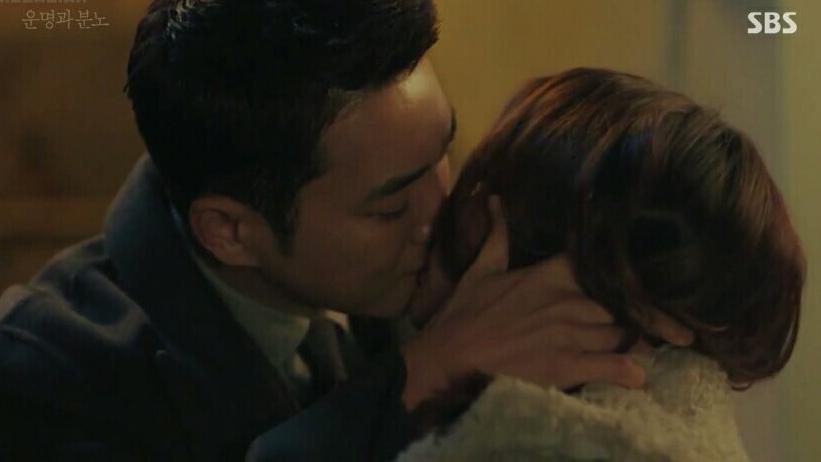 Korean drama fates and furies passionate kiss