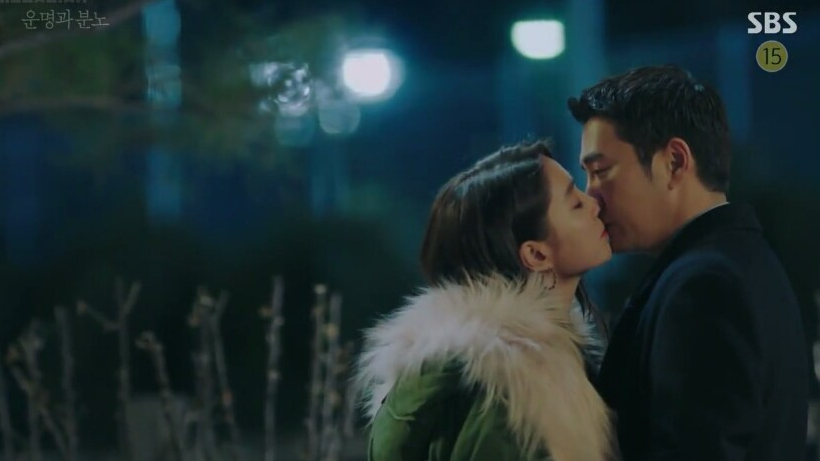Go Hae Ra and Tae In Joon surprise kiss