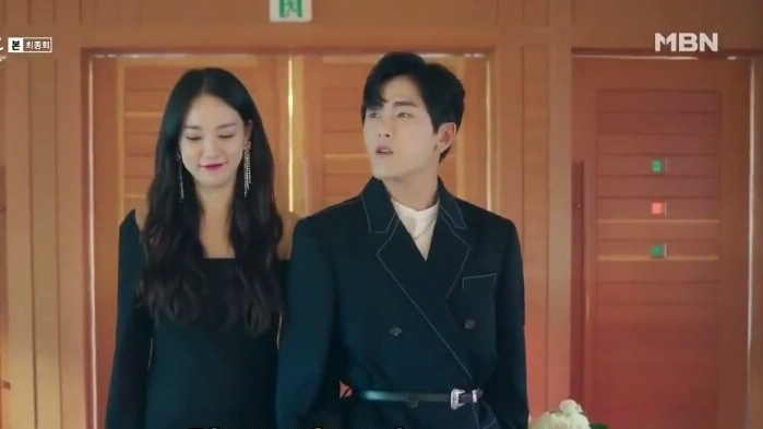 Lee Joo Yeon and Hoya Devilish joy