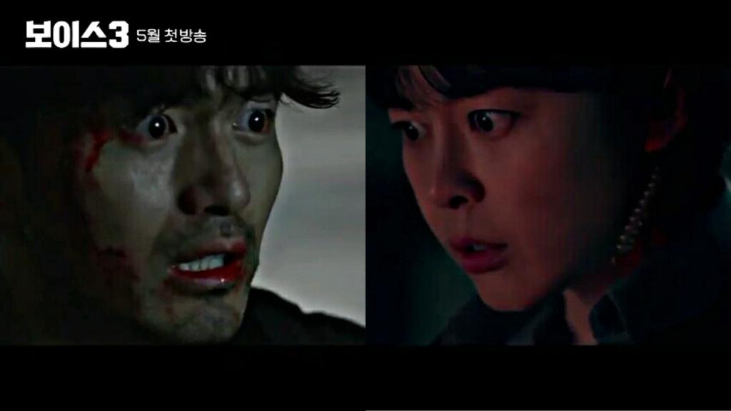 Lee Jin Wook and Lee Ha Na drama Voice 3 2019.