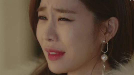 Yun Seo crying