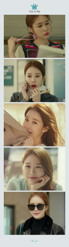 yoo in na cute touch your heart