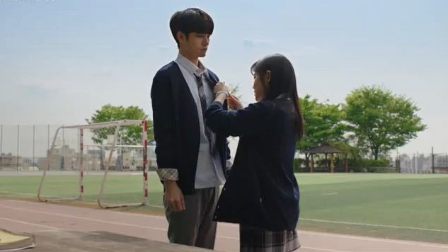 Ong Sung Woo and Kim Hyang Gi cute moment in moment at 18 drama