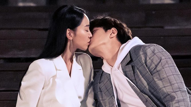 Shin Hye Sun and Infinite's L Kiss Scene