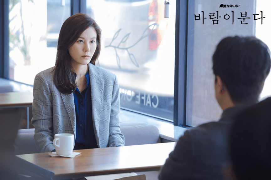 Official photo during divorce the wind blows Kim Ha Neul