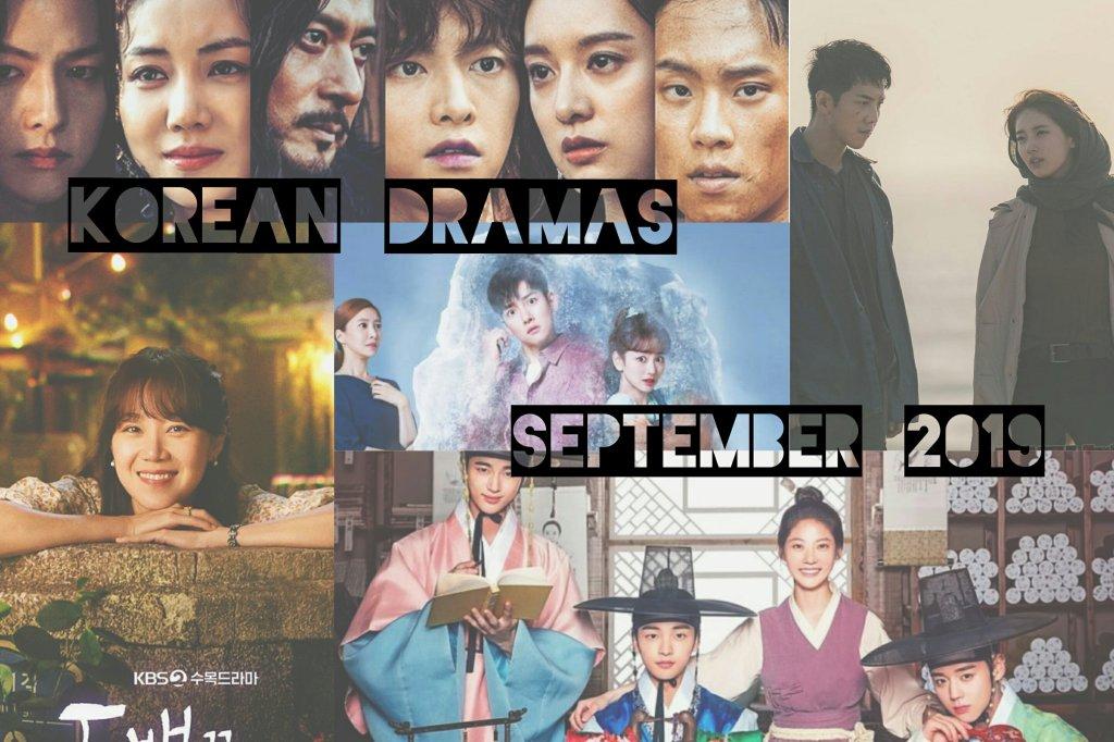 september 2019 korean dramas