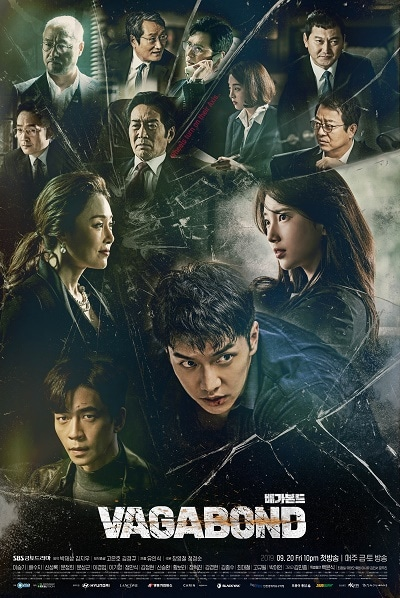 Vagabond drama poster 2019