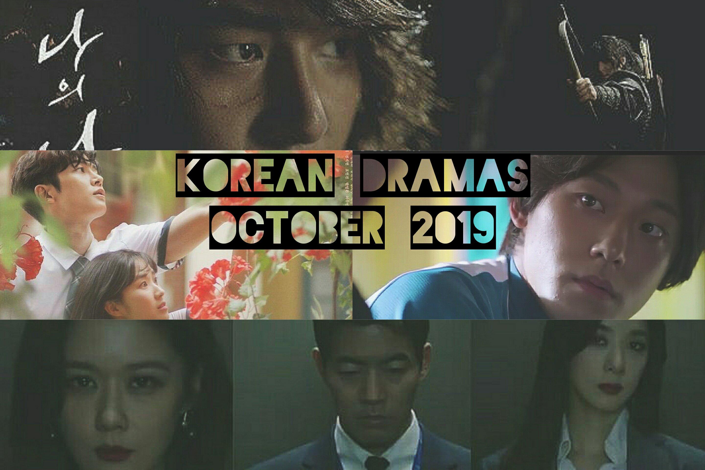 airing dramas october 2019