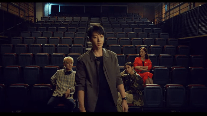 Leverage drama korean characters