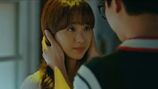 won jin ah kiss scene