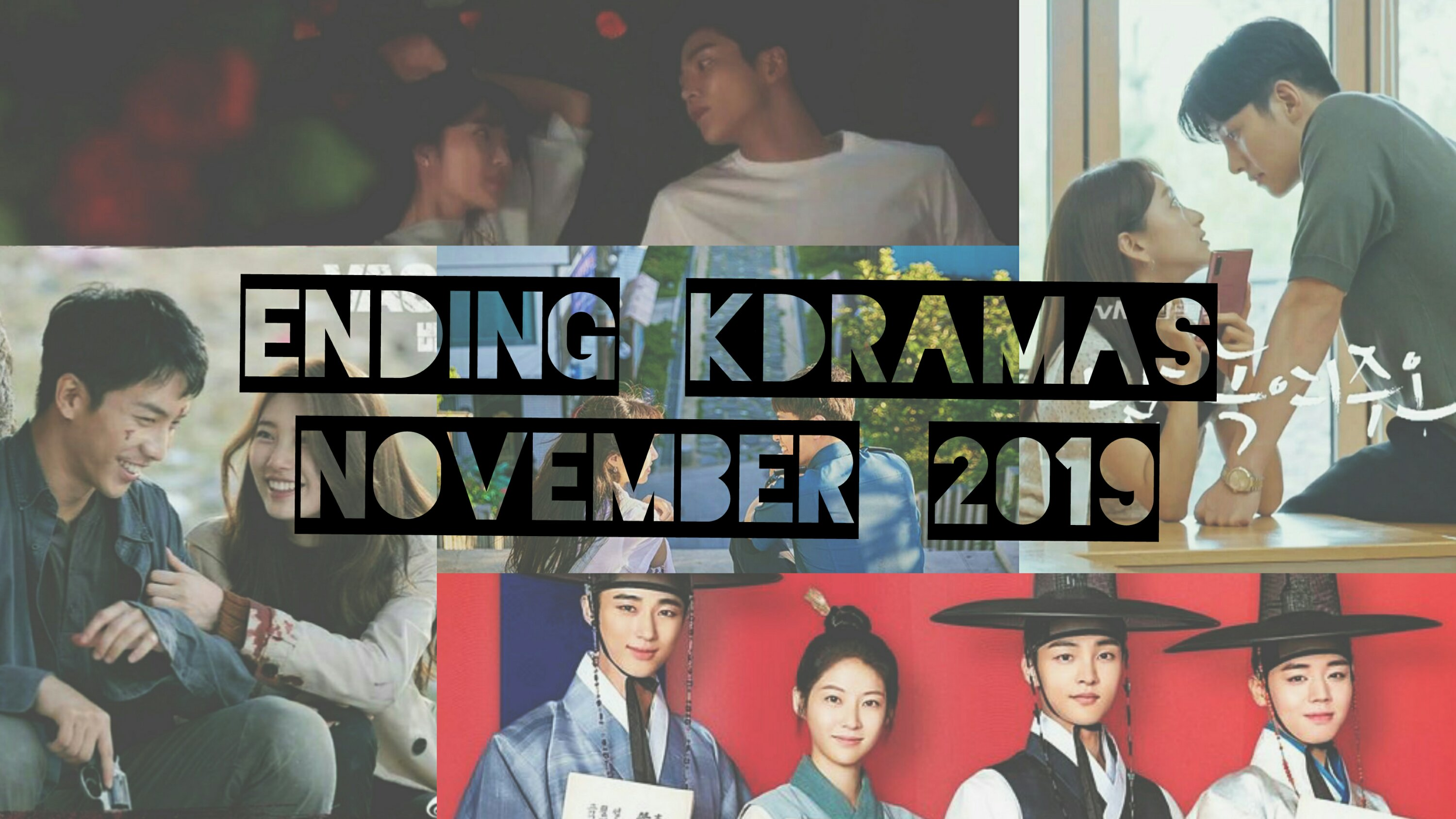 ending kdramas november 2019