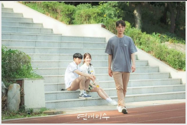 failing in love korean web drama also called attempted romance