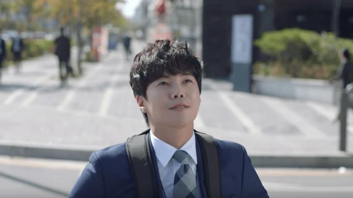 have a wash and brush up korean drama special Park Eun Seok