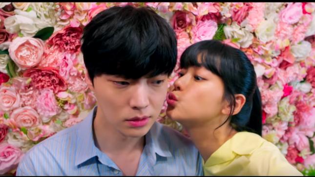 Love with flaws drama kiss scene