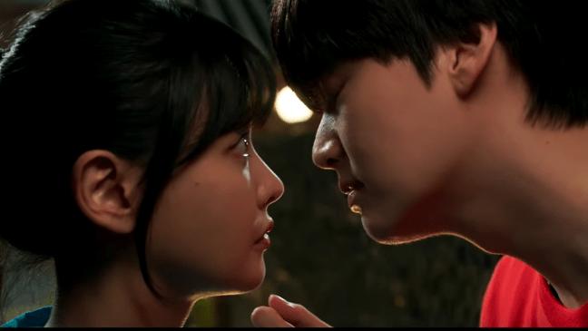 Love with flaws romance scene between Oh Yeon Seo and Ahn Jae Hyun