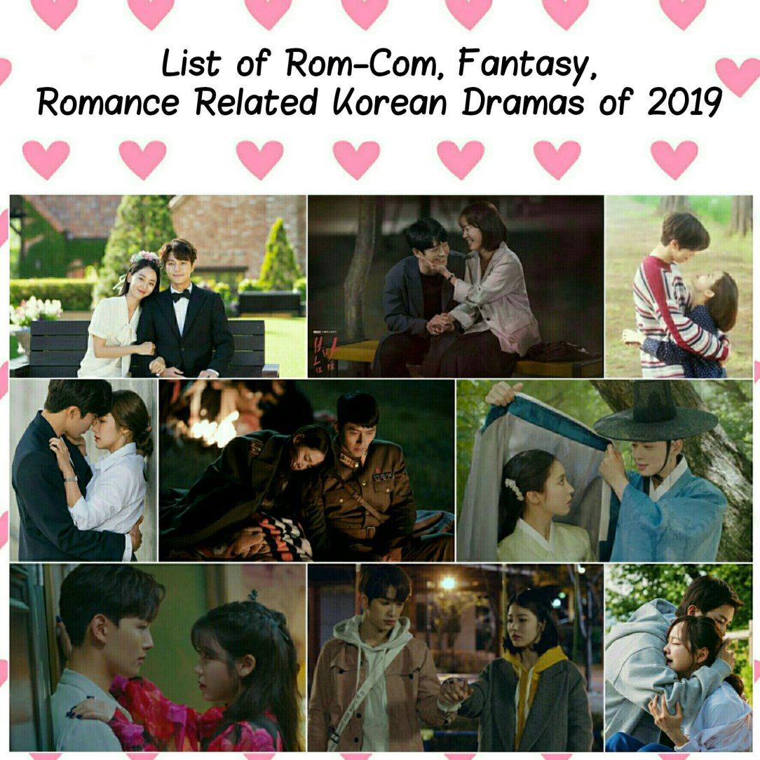 all romance rom-com fantasy korean dramas of 2019 complete