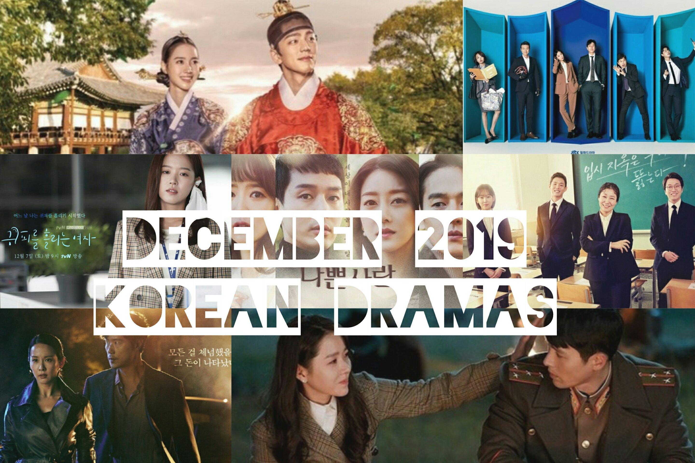 december 2019 korean dramas