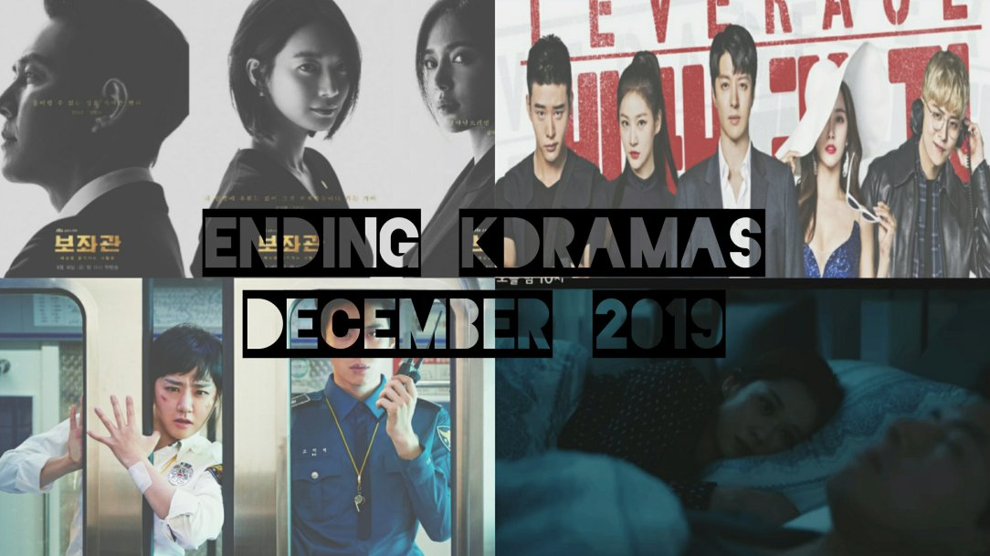 korean dramas finished december 2019