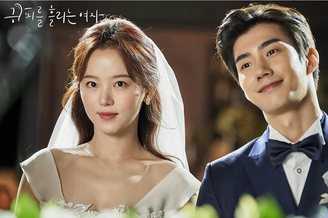 son woo hyun and kang han na woman with a bleeding ear kdrama