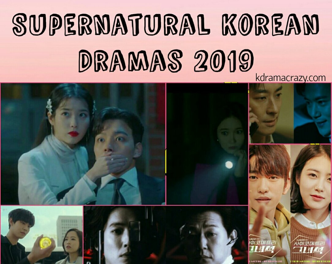 Supernatural Kdramas 2019 list