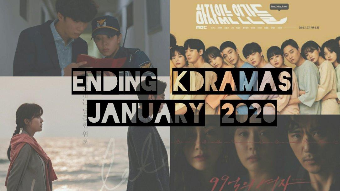 ending kdramas january 2020