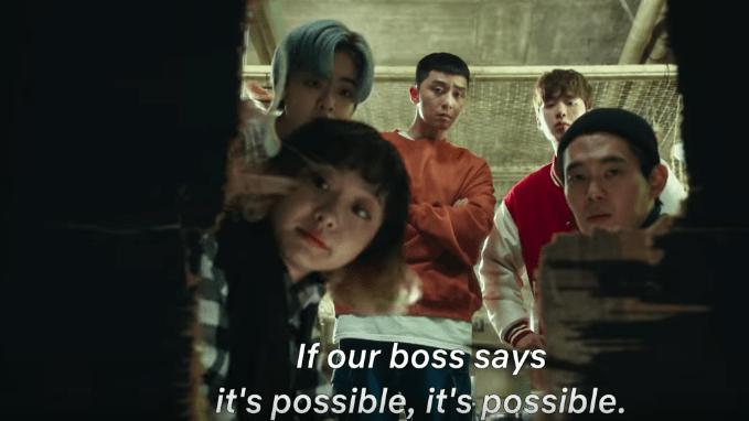 Itaewon Class Drama Scene 2020