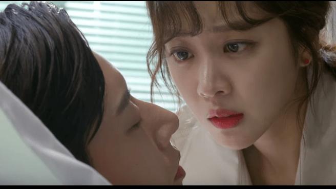 Park Hae Jin and Jo Bo ah romance scene forest drama 2020