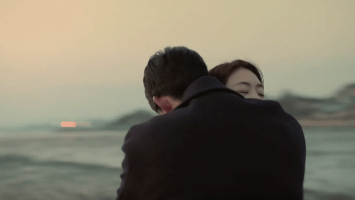The game towards zero TaecYeon and Lee Yeon hee hug scene