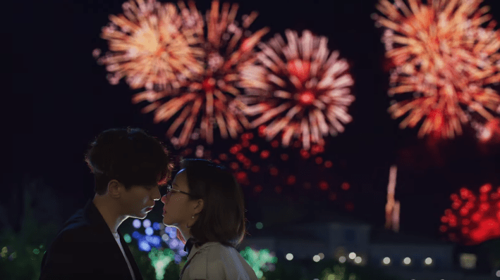 kiss scene Yoon Hyun Min and go sung hee holo love 2020 drama