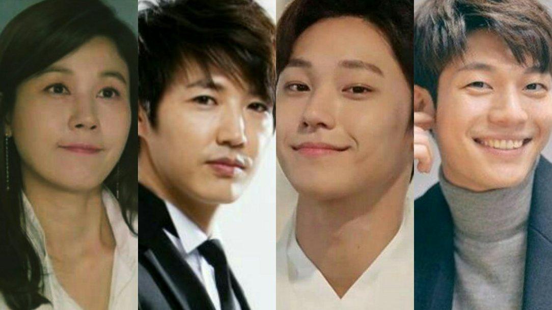 kim ha neul, yoon sang hyun, lee do hyun and wi ha joon kdrama 18 again