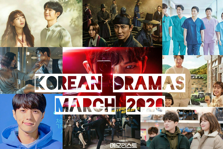 korean dramas march 2020