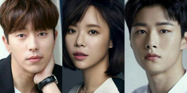 yoon hyun min, hwang jung eum and seo ji hoon for that guy is that guy