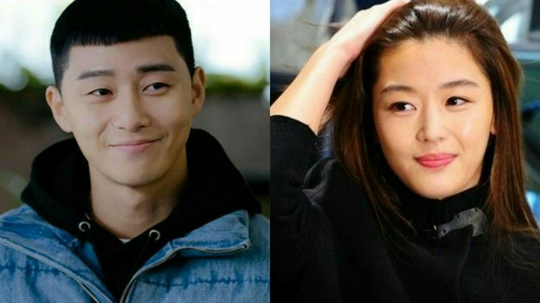 park seo joon and jun ji hyun for kdrama mount jiri