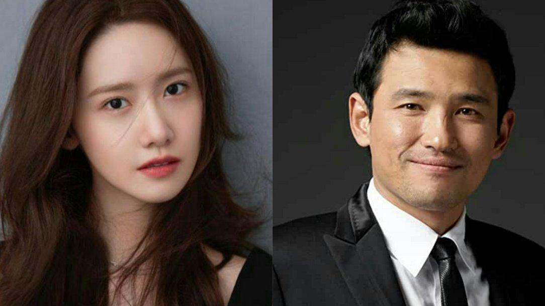 yoona and hwang jung min for kdrama hush